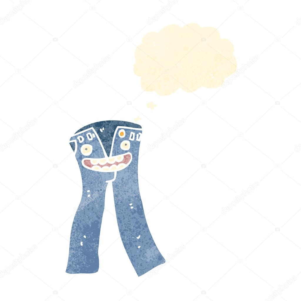 Skinny Jeans Cartoon
