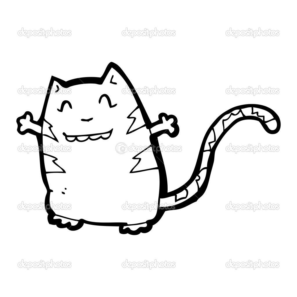 搞笑开心猫卡通