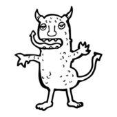 Kreskówka demona — Wektor stockowy