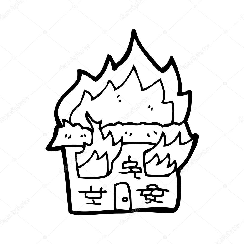 clipart burning house - photo #31