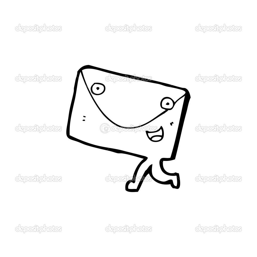 信封手绘图片素材