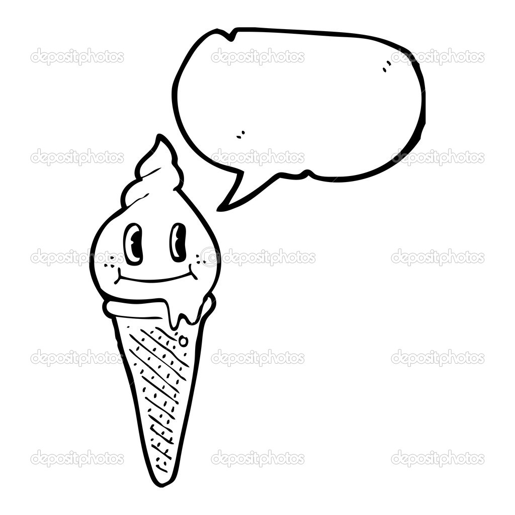 Free Plan Ice Cream Cone Coloring Pages