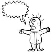愤怒的人 — 图库矢量图片