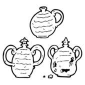 Ancienne poterie — Vecteur