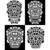 Dead skulls — Stock Vector