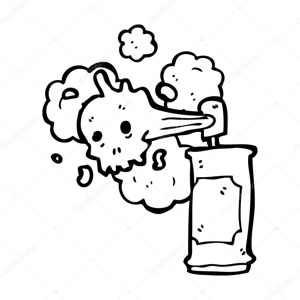 Cr ne spooky graffiti bombe a rosol image vectorielle - Bombe de graffiti ...
