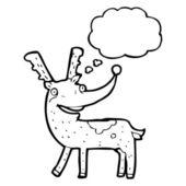 Šťastný sobů — Stock vektor