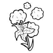 Azucena — Vector de stock