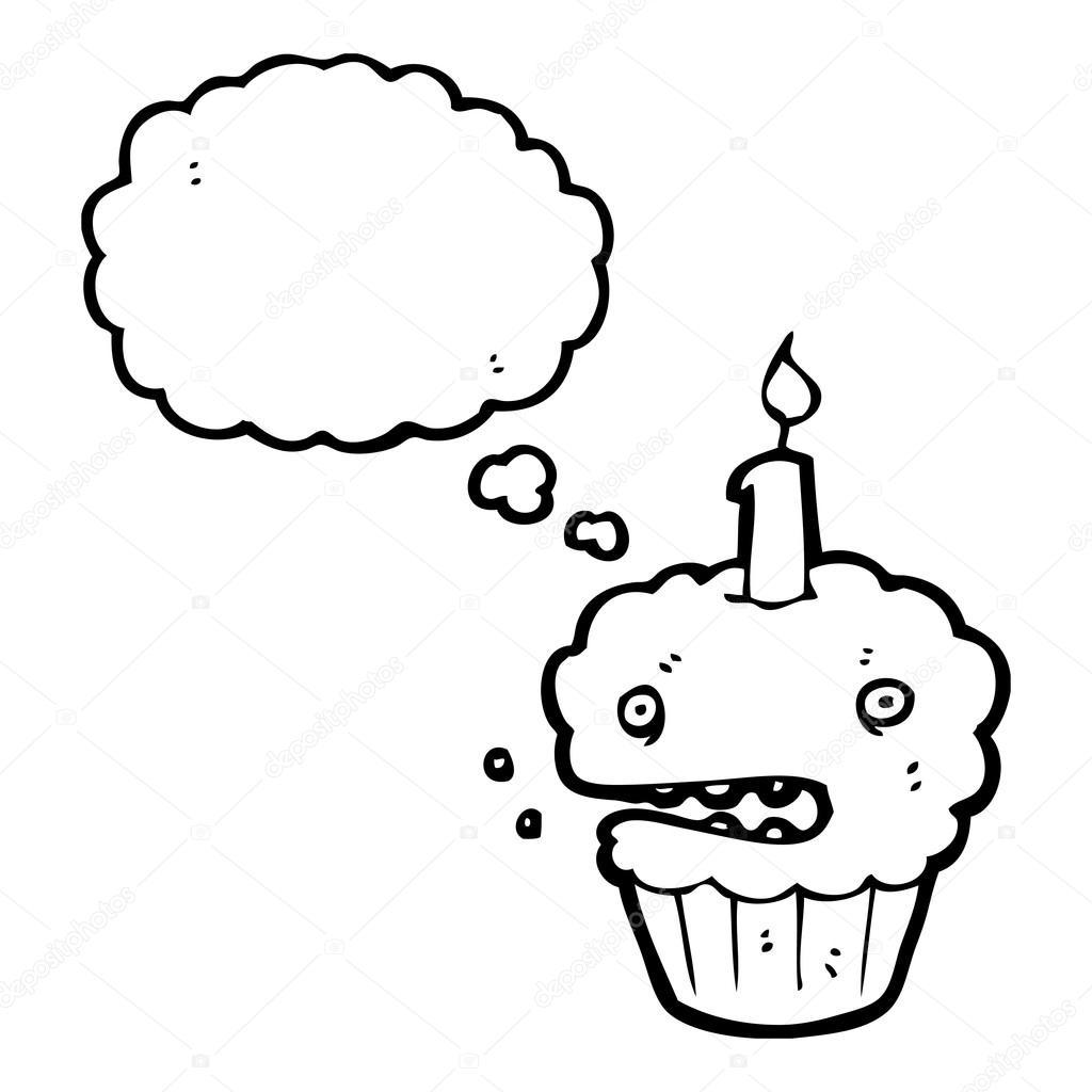杯子蛋糕 — 图库矢量图像08
