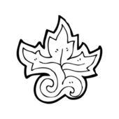 Patrón decorativo floral — Vector de stock