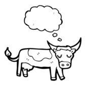 Kuh — Stockvektor