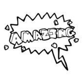 Amazing — Stock Vector