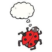 可爱的瓢虫 — 图库矢量图片