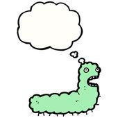 Funny caterpillar — 图库矢量图片