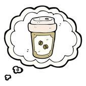 Kaffee-symbol — Stockvektor