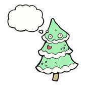 танцы рождественская елка — Cтоковый вектор