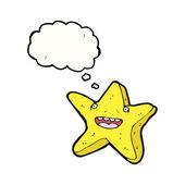 Talking star — Stock Vector