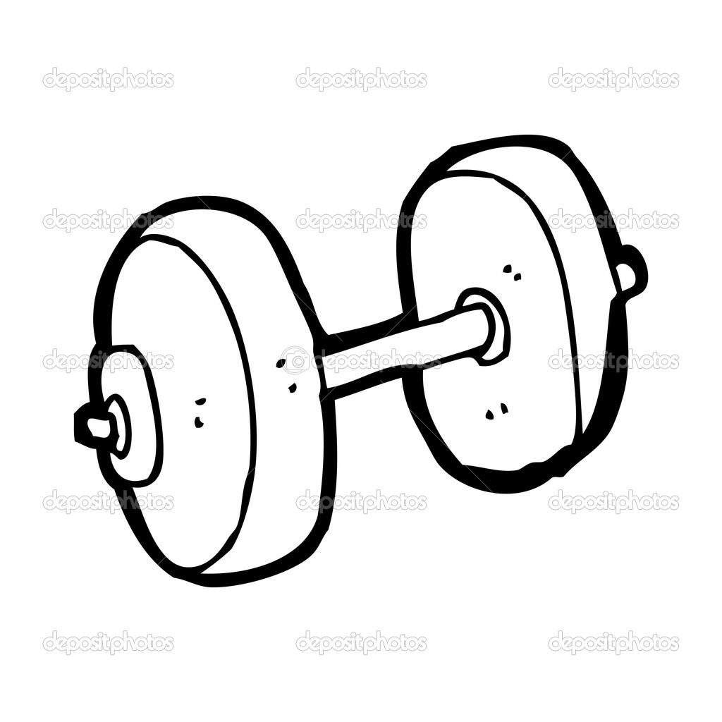 gym weights coloring pages - photo#22