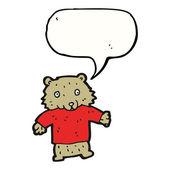 Medvídek — Stock vektor