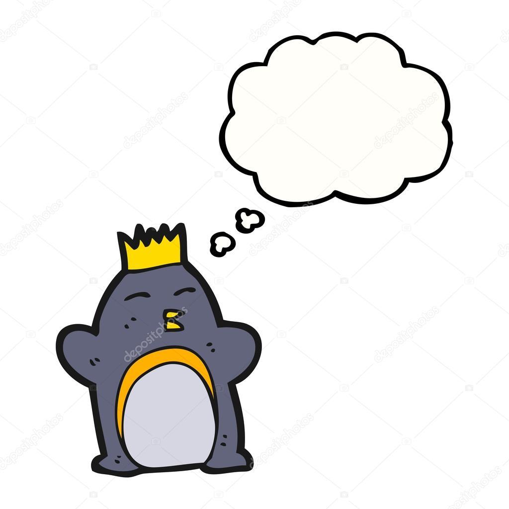 卡通皇帝企鹅 — 矢量图片作者
