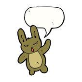 Cute rabbit — Stock Vector
