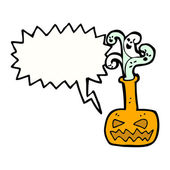 Pumpkin spell — Stock Vector