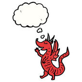 Red dragon — Vecteur