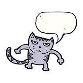 Cat attack — Stock vektor