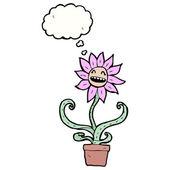 Retro flower — Stock Vector