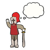 Medieval knight — Stock Vector