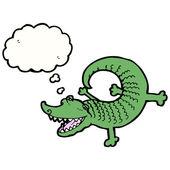 鳄鱼 — 图库矢量图片