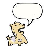 Barking dog — 图库矢量图片