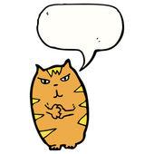 Интриги кошка — Cтоковый вектор