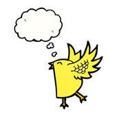 Flapping bird — Stock Vector