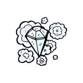 Diamond — Vetor de Stock