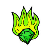 Verde esmeralda — Vetorial Stock