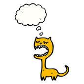 Annoying cat — Stock Vector