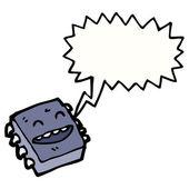 Chip de computadora — Vector de stock