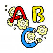 Vector de stock : ABC