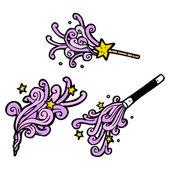 魔杖 — 图库矢量图片
