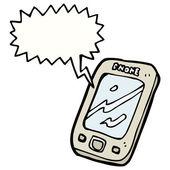 Touch screen phone — Vecteur