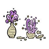Pot magique — Vecteur