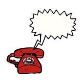 Telefone vermelho — Vetorial Stock