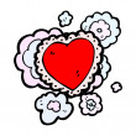 Decorative heart — Stock Vector #20878955