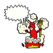 Djävulen — Stockvektor