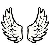 Ali d'angelo — Vettoriale Stock