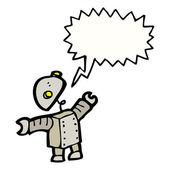 Little robot — Stock Vector