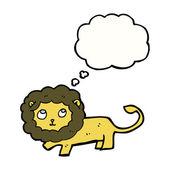 Lion on a white background — Wektor stockowy