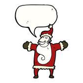 Santa claus na białym tle — Wektor stockowy