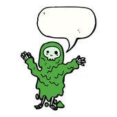 Gross slime monster — Stock Vector